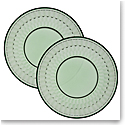 Villeroy and Boch Boston Colored Salad Plate Green Pair