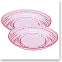 Villeroy and Boch Boston Colored Salad Plate Pair Rose