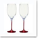 Villeroy and Boch Allegorie Premium Rose Chardonnay Pair