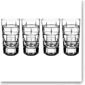 Rogaska Quoin Shotglass, Set of 4