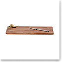 Michael Aram Ivy and Oak Bar Board with Bar Knife