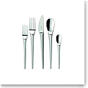 Villeroy and Boch Flatware NewMoon Cutlery 5 Piece Place Set