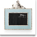 Michael Aram Teddy 2x3 Picture Frame, Blue