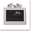 "Michael Aram Children Elephant 4x6"" Photo Frame, Pink"
