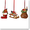 Villeroy and Boch 2021 Nostalgic Ornaments Set of Three