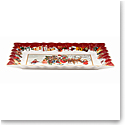 Villeroy and Boch Toys Fantasy Cake Plate, Santa and Kids