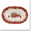 Villeroy and Boch Toys Fantasy Bowl Oval, Santa and Kids