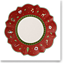 Villeroy and Boch Toy's Delight Bread and Butter Plate Red