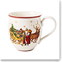 Villeroy and Boch Toy's Delight Mug Santa with Sleigh, Single