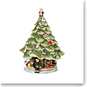 "Villeroy and Boch Christmas Toys Musical Christmas Tree ""Oh Christmas Tree"""