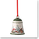 Villeroy and Boch 2020 My Christmas Tree Bell Ornament