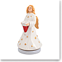 Villeroy and Boch Nostalgic Melody Turning Angel Music Figurine