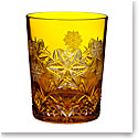 Waterford Crystal, Snowflake Wishes Peace Amber DOF Tumbler, Single