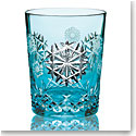 Waterford Crystal, Snowflake Wishes Happiness 2018 Aqua Crystal DOF Tumbler, Single