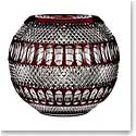 "Waterford House of Waterford Colleen 60th Anniversary Limited Edition 12"" Large Ruby Rose Bowl"