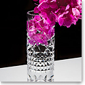 "Waterford Crystal, Jeff Leatham Fleurology Tina 12"" Crystal Vase"