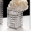 "Waterford Crystal, Jeff Leatham Fleurology Kylie 8"" Crystal Vase"