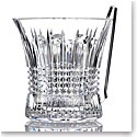 Waterford Crystal, Lismore Diamond Ice Bucket With Tongs
