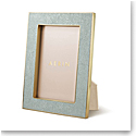 "Aerin Classic Shagreen Frame, Mist 4x6"""