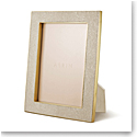 "Aerin Classic Shagreen Frame, Wheat 5x7"""