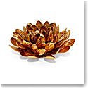 Aerin Gilded Porcelain Dahlia Flower Sculpture