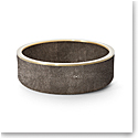 Aerin Shagreen Wine Coaster, Chocolate