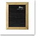 "Michael Aram Wheat 8x10"" Photo Frame"
