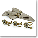 Michael Aram Anemone Napkin Rings Set of 4