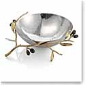 "Michael Aram Olive Branch Gold 10 1/2"" Serving Bowl"