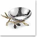 Michael Aram Olive Branch Gold Catch All Bowl