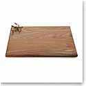 Michael Aram Olive Branch Gold Oval Wood Serving Board