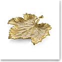 Michael Aram Grapeleaf Snack Plate Gold