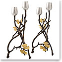 Michael Aram Butterfly Gingko Candleholders Set of 2