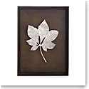Michael Aram Chestnut Leaf Shadow Box Antique Nickel