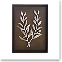 Michael Aram Olive Branch Shadow Box Antique Nickel