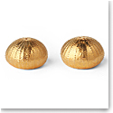 Aerin Sea Urchin Salt and Pepper Shakers, Gold