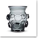 """Aerin Abel 7"""" Vase, Ink"""