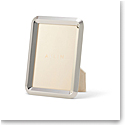 "Aerin Archer Frame, Silver 4x6"""