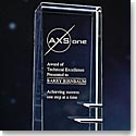 Crystal Blanc, Personalize! Steps To Success Award, Large