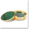 Aerin Lucas Coaster Set Set of Four, Jade