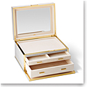 Aerin Luxehagreen Jewelry Box, Dove