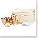 Aerin Classic Shagreen Bar Set, Cream