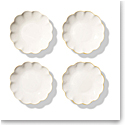 Aerin Scalloped Appetizer Plates Set of 4