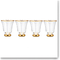 Aerin Sophia Cocktail Tumbler, Clear Set of 4