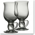 Galway Crystal Latte Mugs, Pair