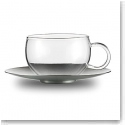 Jenaer Glas Good Mood Tea Cup With Saucer Set