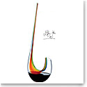 Riedel Elton John Swan Magnum Rainbow Decanter, Final Edition