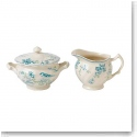 Johnson Brothers China Vintage Charm Sugar and Creamer Set Giftboxed