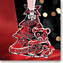 Cashs Ireland, Babys First Christmas 2018 Crystal Ornament