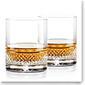 Cashs Ireland, Cooper Irish Whiskey DOF Glasses, Pair